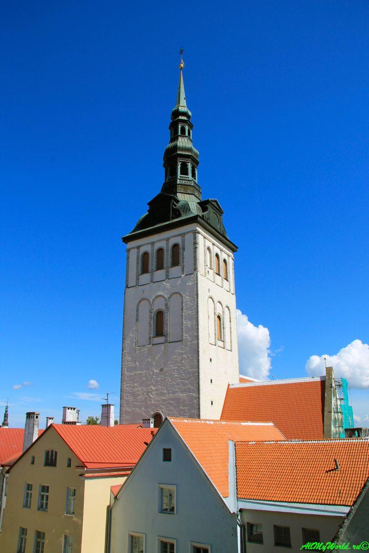 Достопримечательности Таллина - церковь Нигулисте