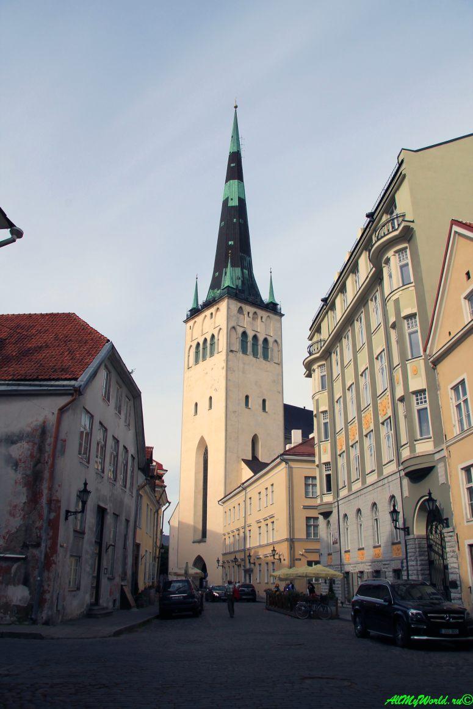 Достопримечательности Таллина - церковь Святого Олафа (Олевисте)