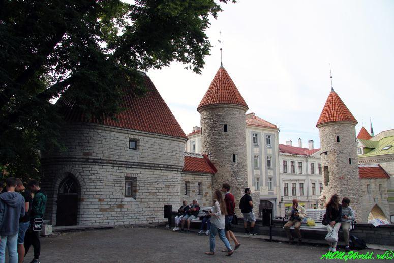 Достопримечательности Таллина - ворота Виру