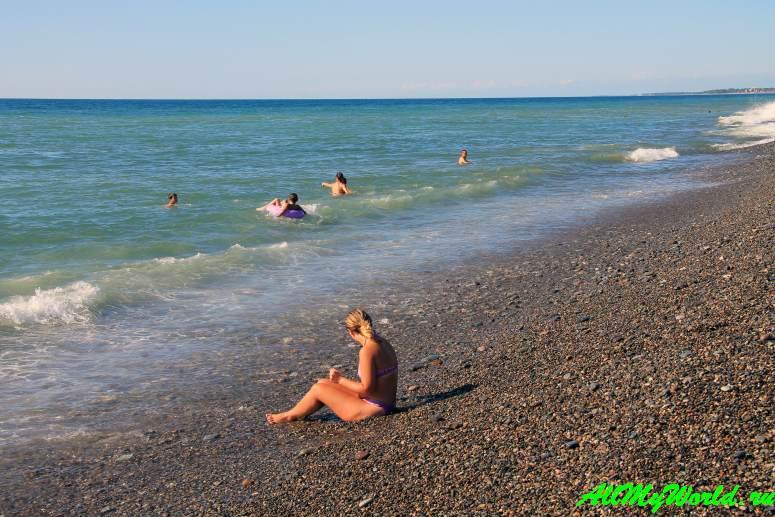 Фото-отзыв о пляже Кобулети