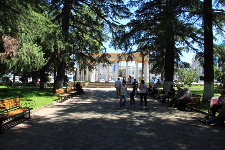 Достопримечательности Кутаиси: Центральный парк