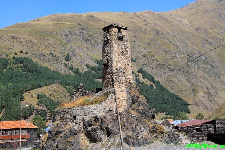 Грузия: долина Сно и горный массив Чаухи