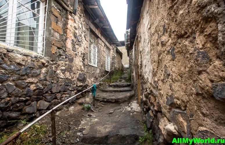 Достопримечательности Еревана - район Конд