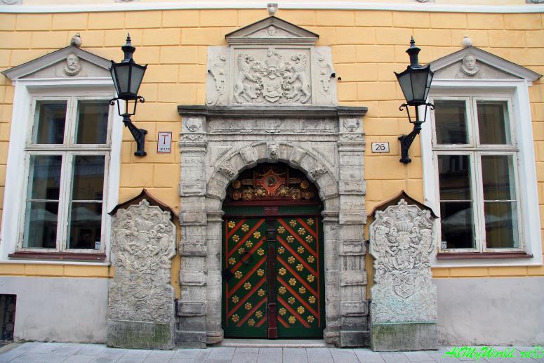 Достопримечательности Таллина: Дом Братства черноголовых