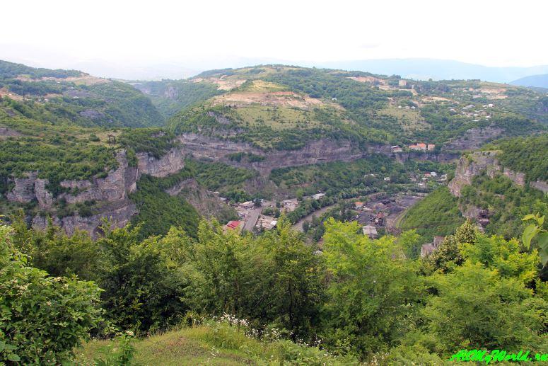 Грузия: город Чиатура