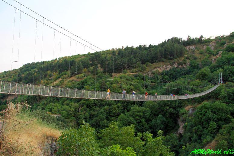 Что посмотреть в Армении - подвесной мост Хндзореск