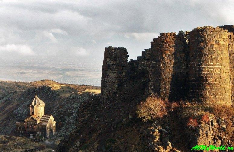 Достопримечательности Армении - крепость Амберд