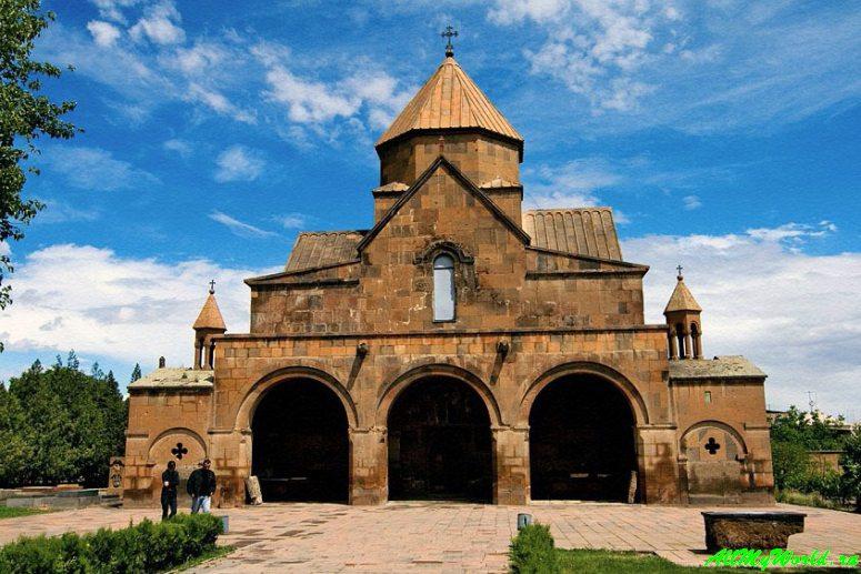 Достопримечательности Армении - церковь Святой Гаяне