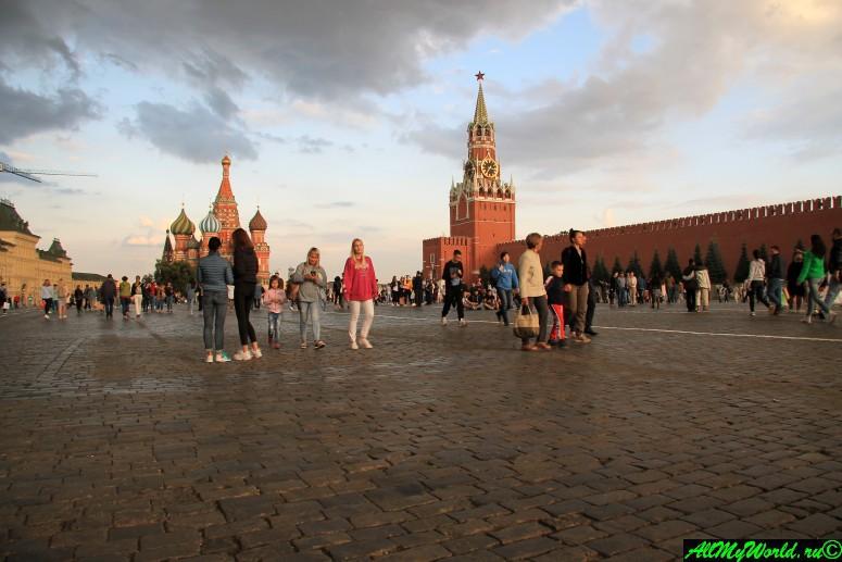 Достопримечательности Москвы - Красная площадь