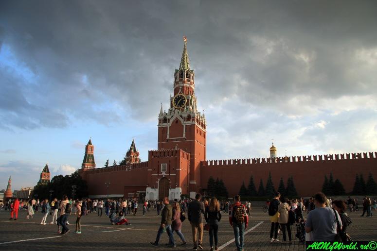 Достопримечательности Москвы - Московский Кремль
