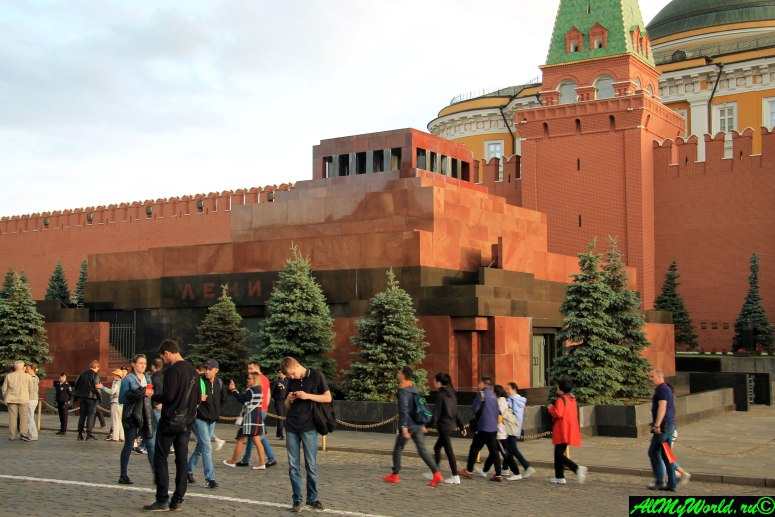 Достопримечательности Москвы - мавзолей Ленина
