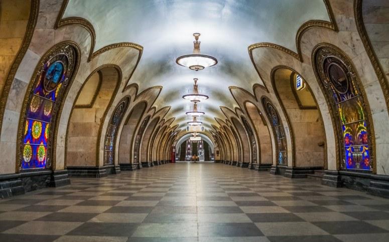 Достопримечательности Москвы - московское метро