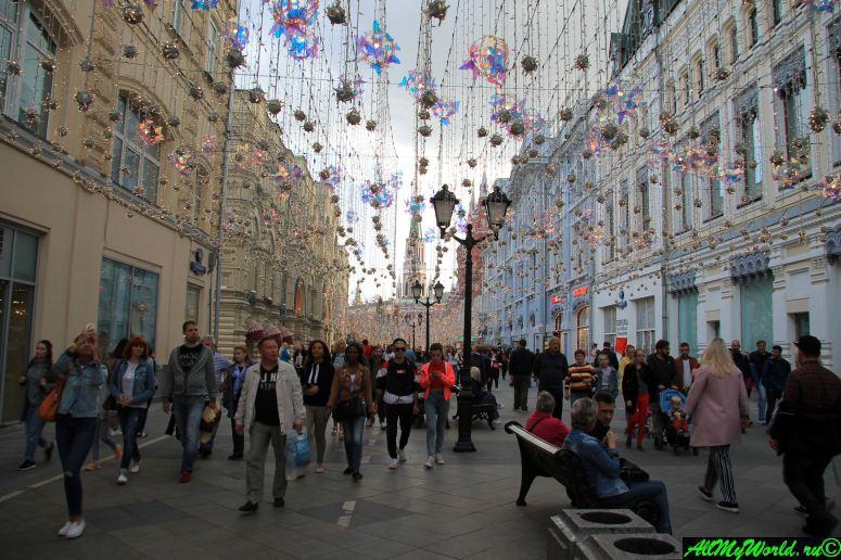 Достопримечательности Москвы - Никольская улица