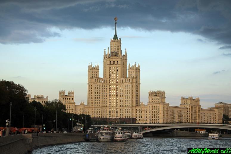 Достопримечательности Москвы - сталинские высотки