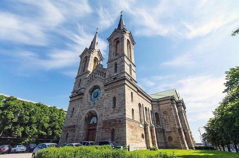 Достопримечательности Таллина - церковь Каарли