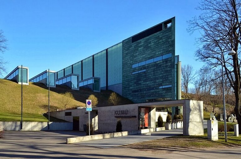 Достопримечательности Таллина - художественный музей Kumu