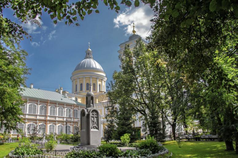 Достопримечательности Санкт-Петербурга - Александро-Невская лавра