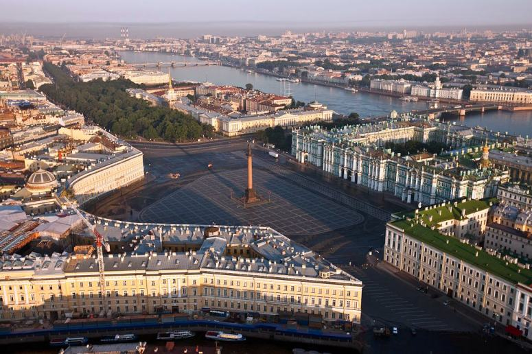 Достопримечательности Санкт-Петербурга - Дворцовая площадь