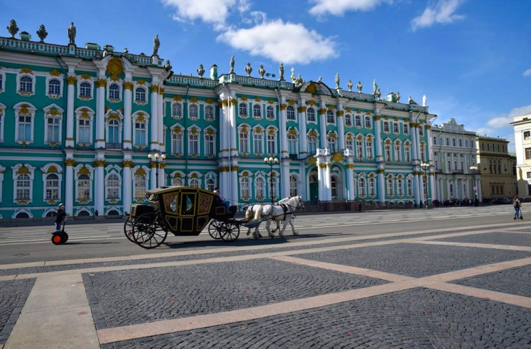Достопримечательности Санкт-Петербурга - Государственный Эрмитаж