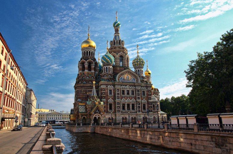 Достопримечательности Санкт-Петербурга - Храм Спаса на Крови