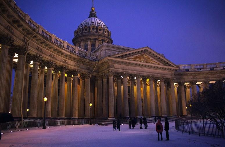 Достопримечательности Санкт-Петербурга - Казанский собор