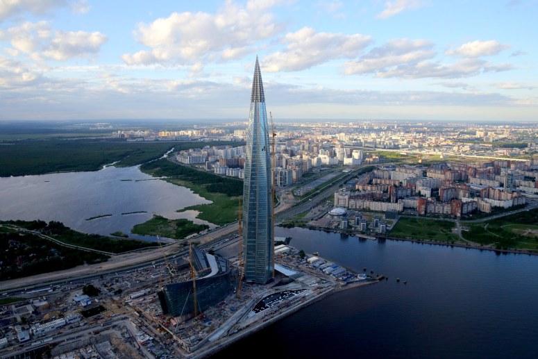 Достопримечательности Санкт-Петербурга - Лахта-центр