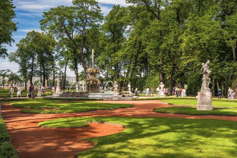Достопримечательности Санкт-Петербурга - Летний сад