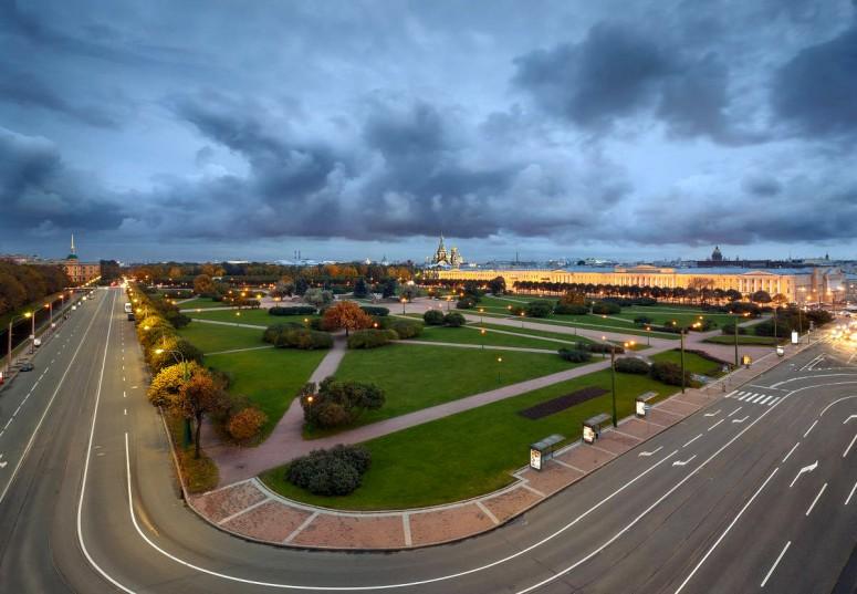 Достопримечательности Санкт-Петербурга - Марсово поле