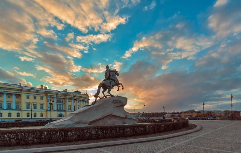 Достопримечательности Санкт-Петербурга - Медный всадник
