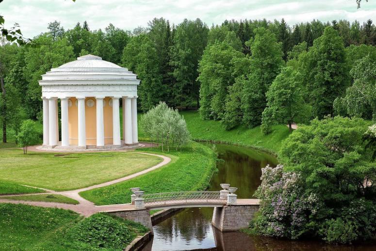 Достопримечательности Санкт-Петербурга - Павловск