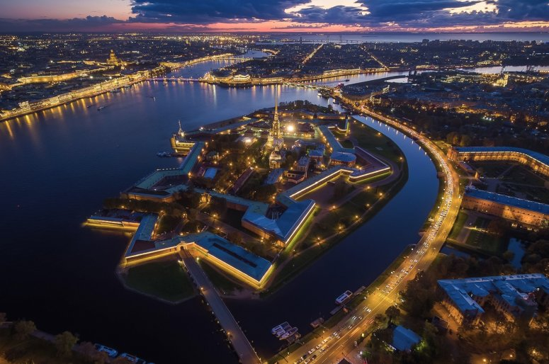 Достопримечательности Санкт-Петербурга - Петропавловская крепость