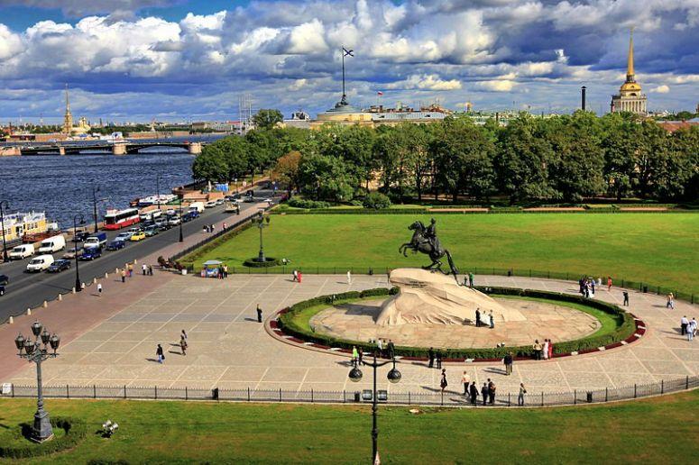 Достопримечательности Санкт-Петербурга - Сенатская площадь