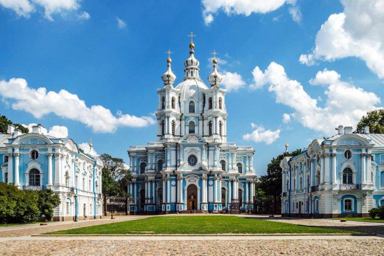 Достопримечательности Санкт-Петербурга - Смольный собор