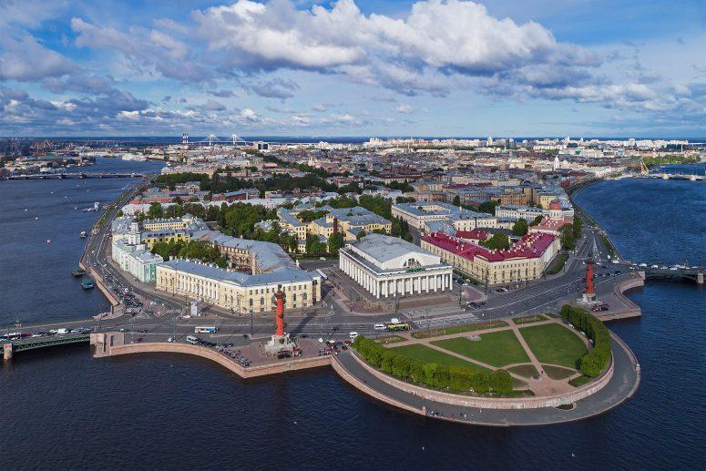 Достопримечательности Санкт-Петербурга - Стрелка Васильевского острова