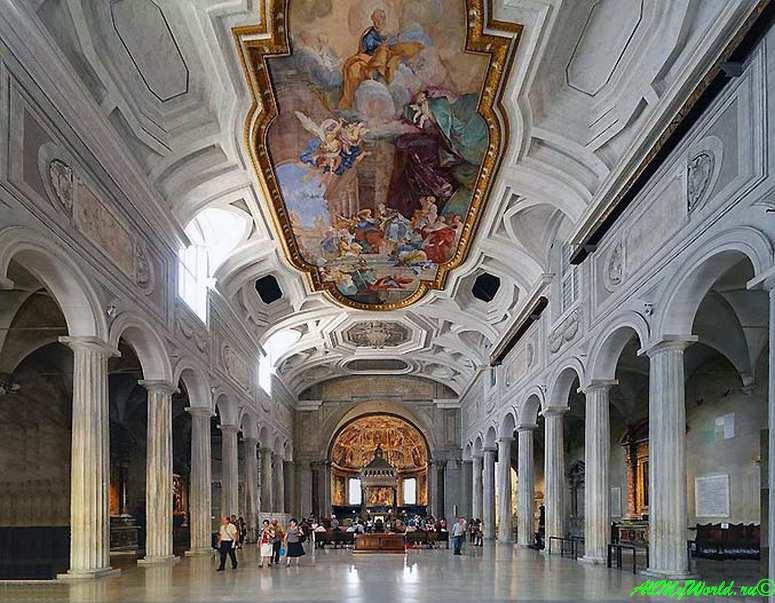 Достопримечательности Рима: Базилика Сан-Пьетро-ин-Винколи