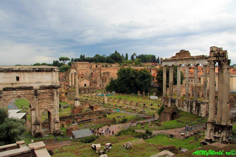 Достопримечательности Рима: римские Форумы