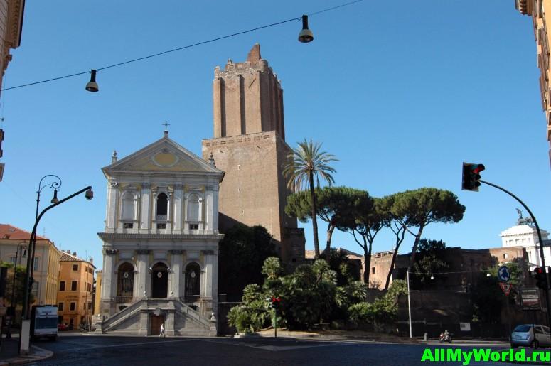 Достопримечательности Рима - площадь Маньянаполи
