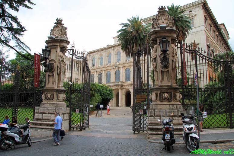 Достопримечательности Рима: палаццо Барберини