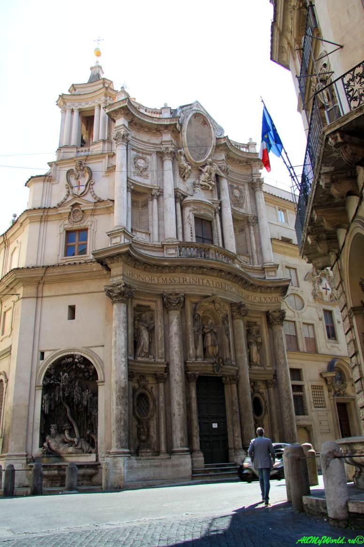 Достопримечательности Рима: площадь Четыре Фонтана (Quattro Fontane)