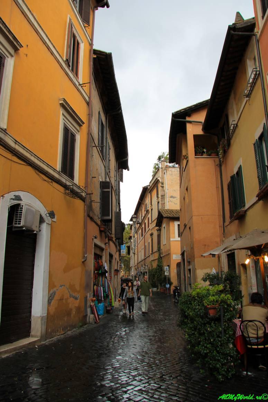 Достопримечательности Рима: район Трастевере