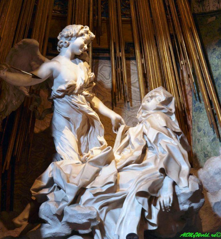 Достопримечательности Рима: церковь Санта-Мария-делла-Виттория