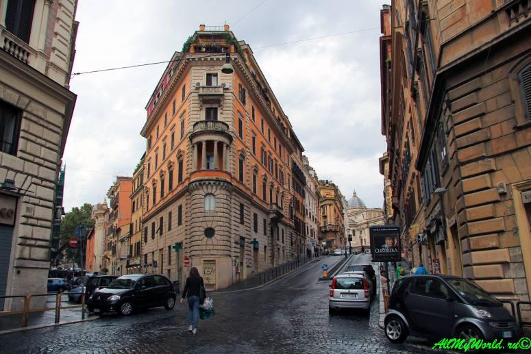 Достопримечательности Рима - улица Кавур