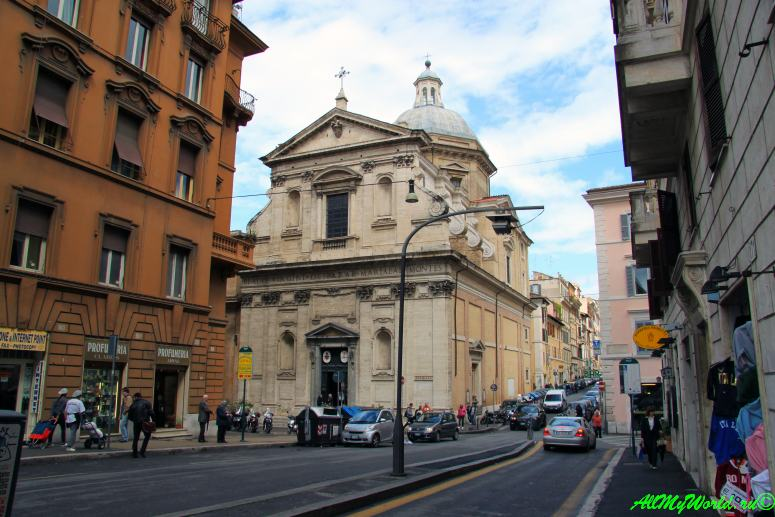 Достопримечательности Рима - улица Национале