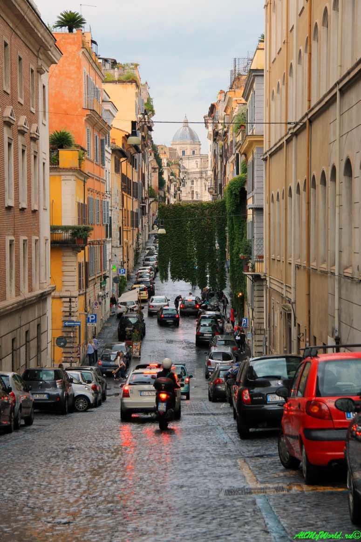 Достопримечательности Рима - улица Панисперна