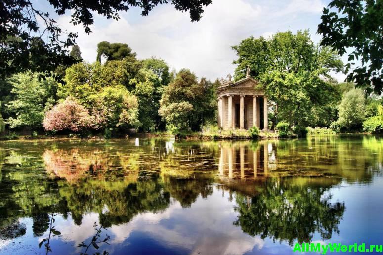 Достопримечательности Рима - вилла Боргезе