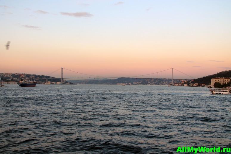 Достопримечательности Стамбула - Босфорский мост
