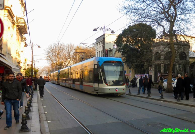 Достопримечательности Стамбула - улица Диван-Йолу