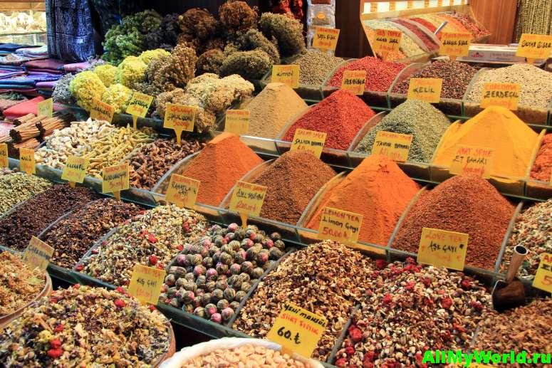 Достопримечательности Стамбула - Египетский базар