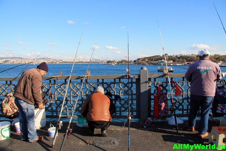 Достопримечательности Стамбула - Галатский мост