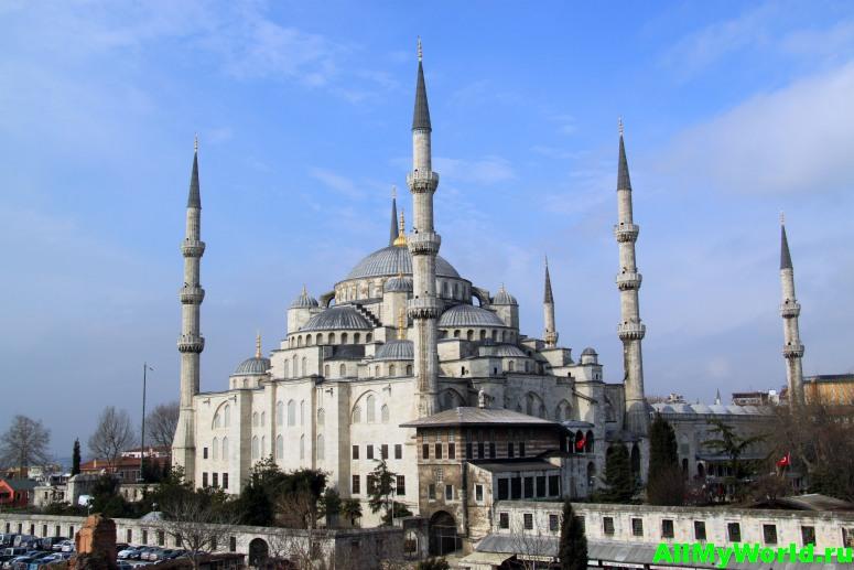 Достопримечательности Стамбула - Голубая мечеть
